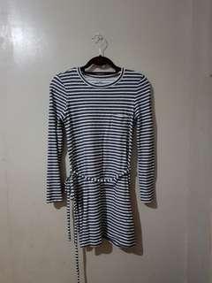 Link stripes dress