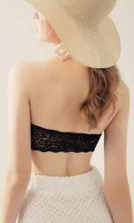 無肩帶 大碼 bra top