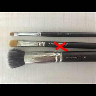Mac & Shu Uemura化妝掃