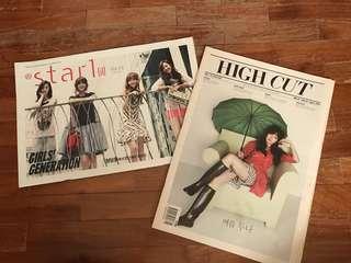 SNSD magazines