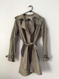 Trench style coat