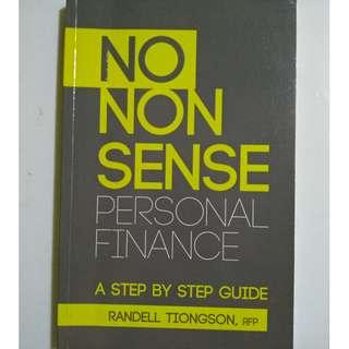 No Nonsense Personal Finance by Randell Tiongson