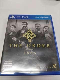 PS4 The Order 1886 (used)