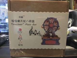 全新摩天輪音樂盒禮物