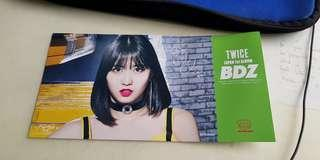 [Instock] Momo BDZ Tower Records Limited Edition Flyer TWICE