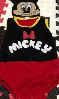 Mickey mouse onesies 6-9 months