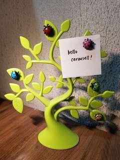 Ladybug Magnetic Note Holder