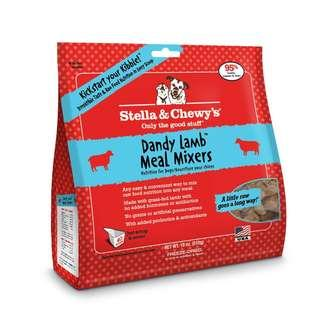 Stella & Chewy's Dandy Lamb Meal Mixers Freeze Dried Dog Food