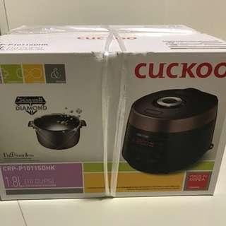 Cuckoo IH多元智能氣壓電飯煲 CRP-P1011SDHK