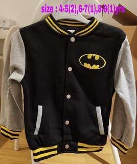 Batman/Superman Jacket 棒球外套