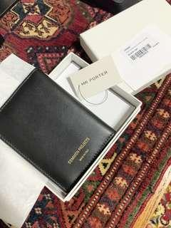 NEW Common Projects leather card holder wallet