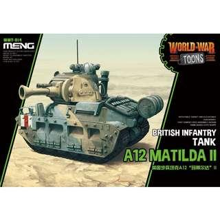 PO: MENG WWT-014 A12 Matilda II