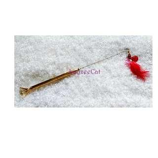[Ready Stock] TW120 Diamond Scepter Exclusive Handmade Cat Teaser