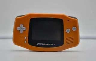Refurbished Gameboy Advance-Orange + 1game