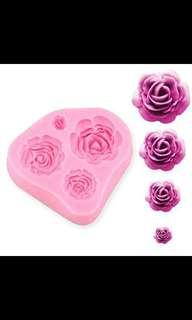 Rose Silicone Mould (Free local normal postage)