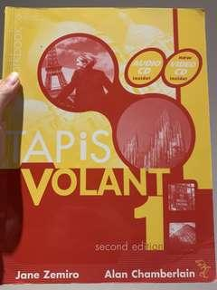Tapis Volant textbook and workbook