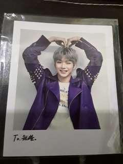 Kang Daniel Official Premier Fancon Bluray Polaroid