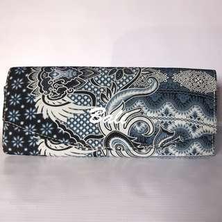 Tas pesta/clutch/motif batik/dompet wanita
