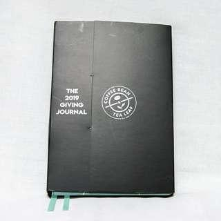Coffee Bean and Tea Leaf 2019 Giving Journal / Planner