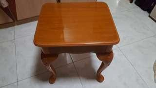 Dressing stool wood