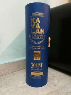 Kavalan single malt whiskey Soloist Box