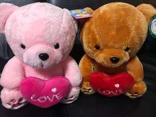 熊熊Love娃娃一組