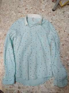 🚚 Arrow Blue Shirt