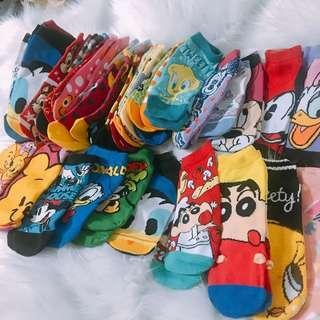 全新現貨💫卡通短襪學生可愛造型襪子不挑款一雙30元