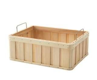 IKEA Brankis Storage Basket Box