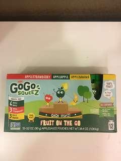 🚚 GoGo Squeez 水果泥一盒(12x90g)