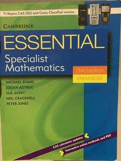 Cambridge Specialist Maths