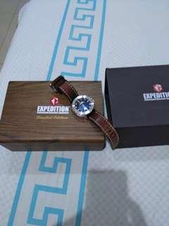 Expedition 6656 MA Automatic Silver Limited Edition Full Set