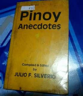 Pinoy Anecdotes by Julio F. Silverio