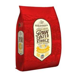 FREE DELIVERY +TREAT Stella & Chewy's Freeze-Dried Raw Coated Kibble Chicken Dry Dog Food