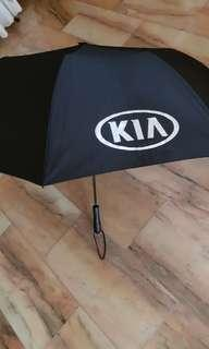 KIA retractable umbrella - Brand New