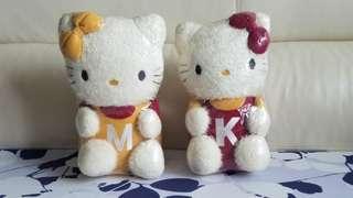 孖公仔 Hello Kitty(一套兩隻)