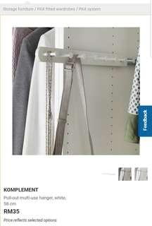 IKEA KOMPLEMENT Pull Out Multipurpose Hanger