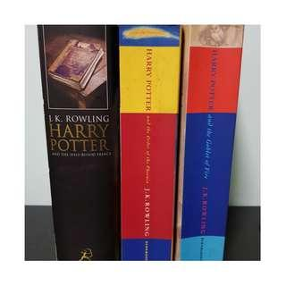 Pre-loved Harry Potter Classics