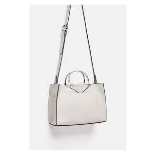 ZARA Metal Handles Mini Bag