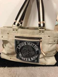 Louis Vuitton canvas bag large