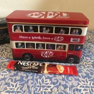 Kit Kat tin from UK