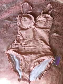BNWT Nude Swimsuit by Missguided