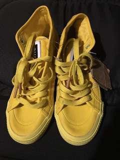 Original Adidas shoes yellow