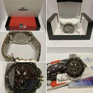 瑞士Tissot 天梭 航海家男裝計時機械自動錶