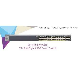 NETGEAR GS728TP 24 ports Switch