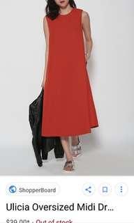 Orange Love Bonita Ulicia Dress