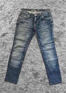 Sinéquanone Dark Blue Denim Pants