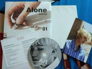 [WTS] SEVENTEEN AL1 ALBUM (Alone Ver.)