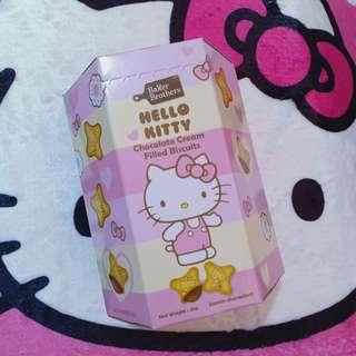 Hello Kitty Chocolate Cream Filled Biscuits