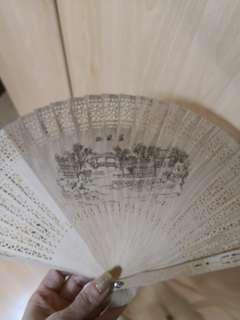 New wooden fan